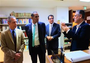 رئيس جامعة أسوان يبحث سبل التعاون العلمي مع المعهد العربي الإسلامي بطوكيو