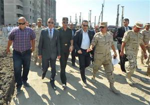 """محافظ الإسكندرية: التوسع في مشروع """"بشائر الخير 3"""" لـ 11 ألف وحدة سكنية (صور)"""