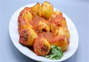 طريقة عمل البطاطس المحشية باللحمة المفرومة