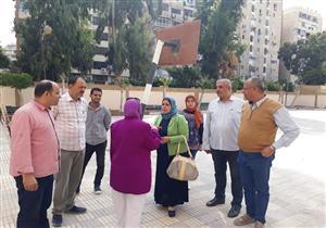 لتصرفهم في أخشاب الأشجار.. إحالة مدير مدرسة وآخرين في الإسكندرية للتحقيق(صور)