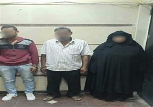 الصور الأولى للمتهمة بإجبار زوجها على استدراج عشيقته لتعذبها في الشرقية