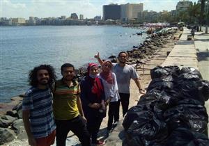 بين القاهرة والإسكندرية.. شباب يدشنون حملة لإنقاذ البيئة
