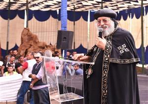 البابا تواضروس يشارك في مؤتمر شباب كنيسة الملاك ميخائيل بالإسكندرية