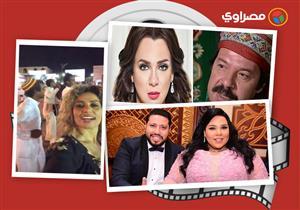 النشرة الفنية | الصور الأولى من حفل زفاف شيماء سيف.. وزوجة عمرو دياب في أسوان