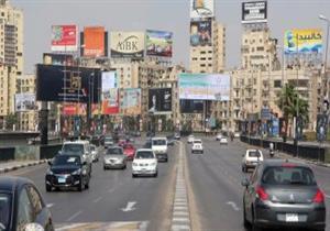 """""""المرور"""": سيولة مرورية أعلى محور 26 يوليو وكثافات بالوراق- فيديو"""