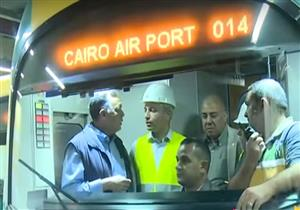 بالفيديو.. وزير النقل يشهد بدء التشغيل التجريبي لرابع مراحل الخط الثالث من مترو الأنفاق