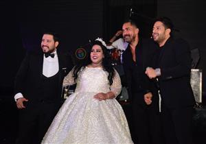 """9 فيديوهات من حفل زفاف شيماء سيف و""""كارتر"""" بحضور نجوم الفن"""