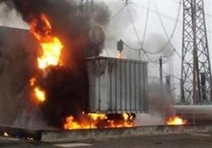 إصابة مهندس و4 فنيين في انفجار محول كهرباء ببورسعيد