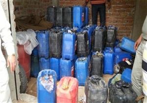 ضبط 16 قضية تهريب مواد بترولية و115 أخرى غش تجاري