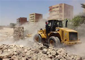 الداخلية: إزالة 1000 حالة تعد على أملاك الدولة والأراضي الزراعية ونهر النيل