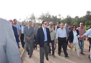 """وزير الزراعة ينفي بيع حديقة """"أنطونيادس"""" بالإسكندرية"""