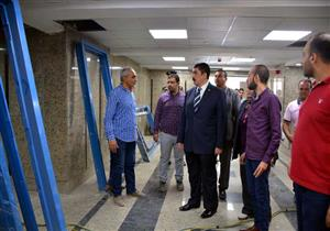 محافظ القليوبية يوجه برفع الإشغالات أثناء تفقده مشروعات بمدينة قها