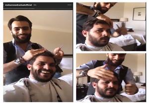 """بالفيديو.. محمد رشاد يستعد لزفافه على مي حلمي: """"يومنا أنا وأنتي"""""""