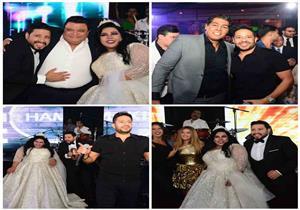 50 صورة ترصد زفاف شيماء سيف ومحمد كارتر