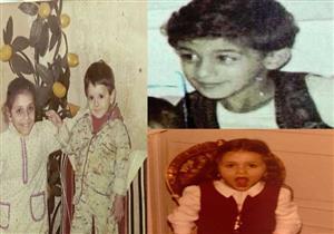 بالصور- نجوم الفن في طفولتهم.. هكذا كان سليمان عيد