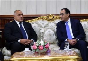 رئيس الوزراء يستقبل نظيره البلغاري بمطار القاهرة