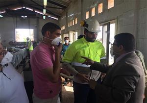 نائب محافظ بني سويف يتفقد مصنع تدوير القمامة