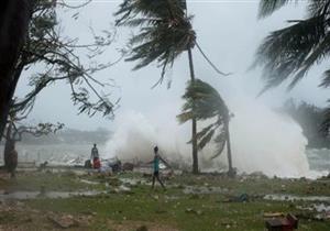 """""""رياح مدمرة"""".. إعصار """"كونج راي"""" يضرب جنوب اليابان"""