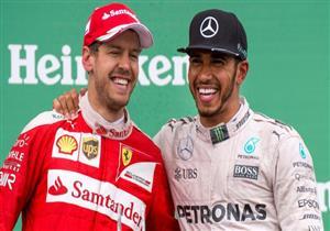 هاميلتون يحسم انطلاقه من المركز الأول بسباق فورمولا-1 الياباني وفيتيل يعاني