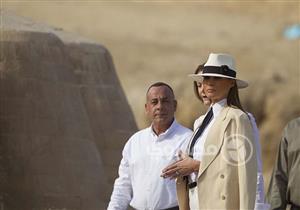 وسائل إعلام عربية ودولية تبرز زيارة ميلانيا ترامب للقاهرة