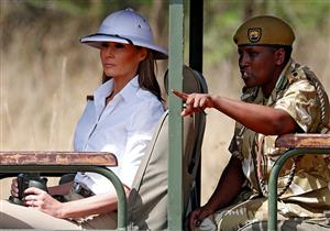 """بعد """"لا أهتم حقًا"""".. ميلانيا ترامب تثير غضب العالم بسبب القبعة الإمبريالية"""