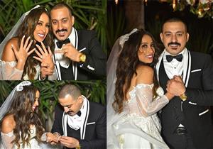 ألبوم صور | حفل زفاف دياب وهاجر الإبياري