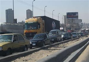 """""""المرور"""": كثافات مرورية مرتفعة على الدائري.. وإليك الطرق البديلة"""