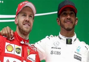 """هاميلتون يطالب بـ""""مزيد من الاحترام"""" لفيتيل أبرز منافسيه في فورمولا-1"""