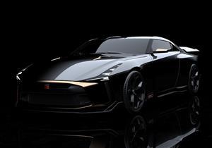 """بالصور.. سيارة حصرية من """"GT-R50"""" احتفالًا باليوبيل الذهبي لنيسان"""