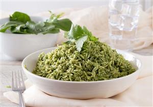 حضروا الأرز الأخضر بطريقة لذيذة وصحية