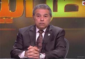 بالفيديو| توفيق عكاشة يهاجم تامر حسني بسبب ولادة زوجته في أمريكا
