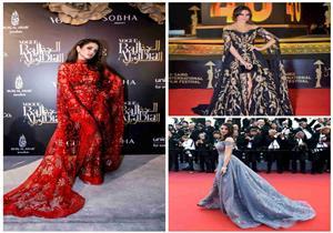 0608dd30093ba جرأة فستان مريم أوزيرلي بمهرجان