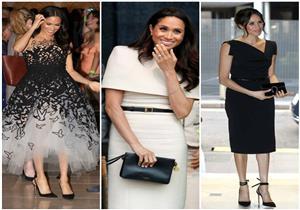 6bf7c20a6edf2 بالصور - أبرزها فستان الزفاف.. أجمل إطلالات ميجان ماركل في عام 2018