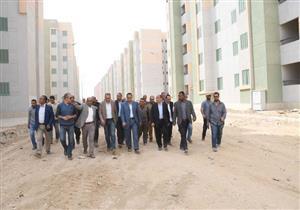 """""""الإسكان"""" انتهاء تشطيبات 4900 وحدة سكنية لتطوير العشوائيات بمشروع """"المحروسة 1و2"""" - صور"""