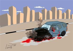 """بالأسماء- إصابة 6 عمال في حادث على طريق """"الفيوم - القاهرة"""""""
