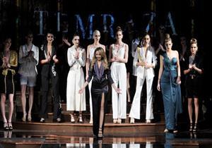 مصممة أزياء مصرية تشارك بأسبوع الموضة العالمي في نيويورك