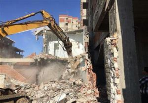 بعضها صُنف خطرًا.. قرار عاجل بإزالة سلسلة مبانٍ مخالفة شرق الإسكندرية