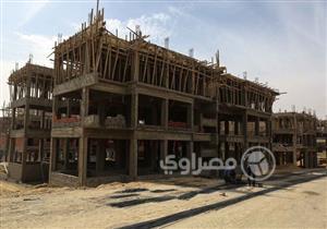 """مصراوي في """"سكن مصر"""" القاهرة الجديدة.. 40% نسبة التنفيذ ولا تغيير في التصميمات - صور وفيديو"""