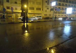 الأمطار تضرب الفيوم وتعيق الحركة المرورية بشوارعها (صور)