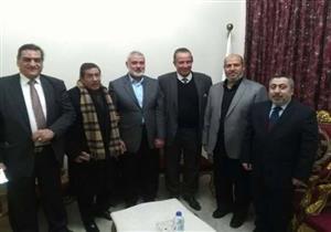 """""""هنية"""" لرئيس الحزب الناصري: مصر قدمت الكثير لإنجاز المصالحة الفلسطينية"""