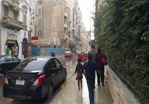 """بالصور– طقس """"أمشير"""" يضرب الإسكندرية"""