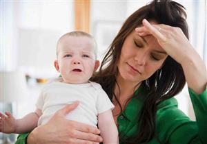 دراسة: اكتئاب ما بعد الولادة يؤثر على الطفل أيضاً