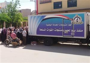محافظ بورسعيد: 7 منافذ غذائية تابعة للجيش بجميع الأحياء