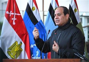 السيسي: العملية الشاملة للقوات المسلحة يجرى تنفيذها في مختلف أنحاء الجمهورية