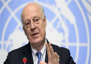 دي ميستورا يحذر من استمرار الوضع في الغوطة الشرقية ويخشي أن تتحول إلى حلب ثانية