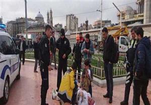 بالفيديو - مواطن إيراني يضرم النار في جسده بإسطنبول