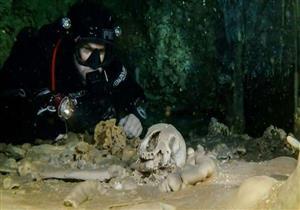 العثور على آثار بشرية وعظام حيوانات من العصر الجليدي في كهف مكسيكي