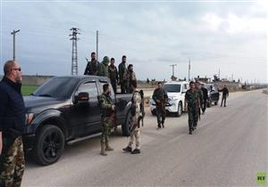 مجموعات جديدة من القوات الشعبية التابعة للجيش السوري تدخل عفرين