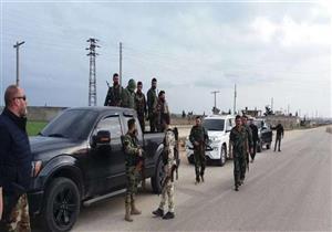 """وصول دفعة جديدة من القوات الشعبية إلى """"عفرين"""" للتصدي للاعتداءات التركية"""