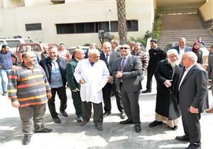 جامعة المنصورة تنتظر الانتهاء من وحدة الكبد خلال عام